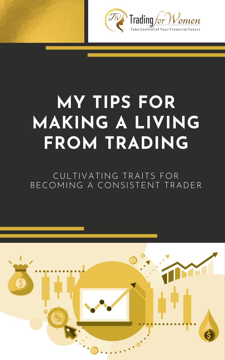 Cover Ebook My Tips for Making a Living From Trading Giovana Vega