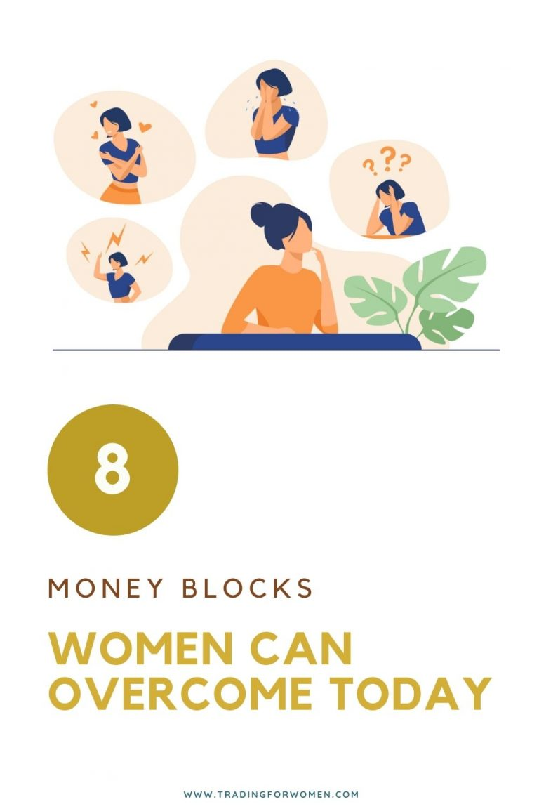 8 money blocks women can overcome today